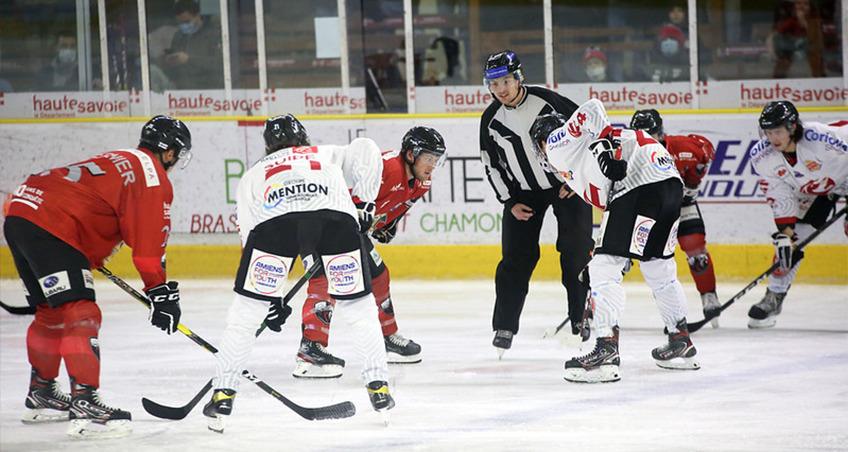 Amiens s'est imposé à Chamonix vendredi, , par Chamonix Hockey Elite