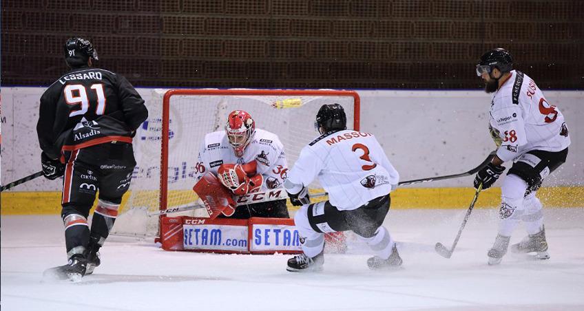 Chamonix a battu Mulhouse à l'Illberg en cette 7ème journée