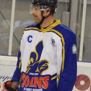 Anthony Mortas portant un maillot de Reims